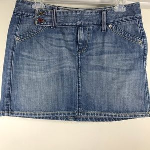 United Colors Of Benetton Skirts - United colors of Benetton denim skirt size Medium